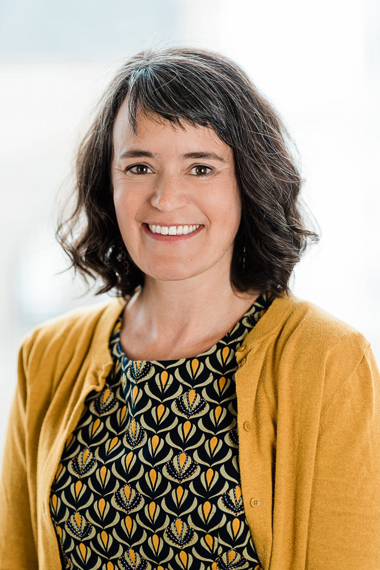 Picture of Andrea Van Hagen a woman with short brown hair
